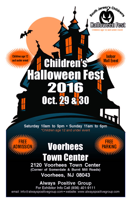 2nd Annual Childrens' Halloween Fest In Voorhees, NJ
