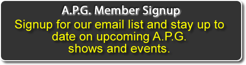 Click to signup for the A.P.G. email list.