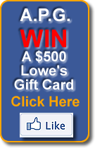 Click to WIN a $250 Home Depot gift card.
