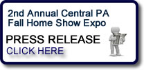 2nd Annual Central PA Fall Home Show Expo Press Release