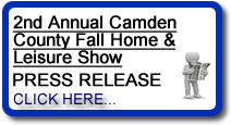 2nd Annual Camden County Fall Home & Leisure Show Press Release