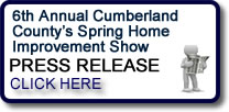 6th Annual Cumberland County's Spring Home Improvement Show Press Release in Vineland, NJ