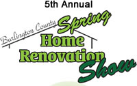 Burlington County; The Moorestown Mall, 400 NJ-38, Moorestown, New Jersey will host the 5th Annual Burlington County Spring Home Renovation Show on April 23rd and 24th.