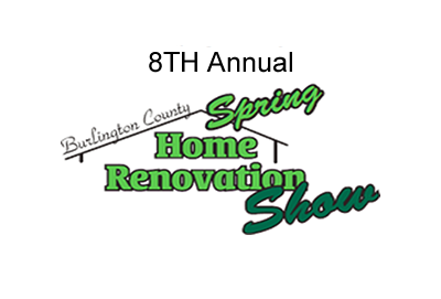 8th Annual Burlington County Spring Home Renovation Show, a two-day event will bring together homeowners and many of the most knowledgeable and experienced home & decor experts under one roof in the Burlington County New Jersey.
