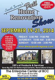 3rd Annual South Jersey's Fall Home Renovation