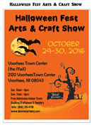 Halloween Fest Arts & Craft Show In Voorhees, NJ
