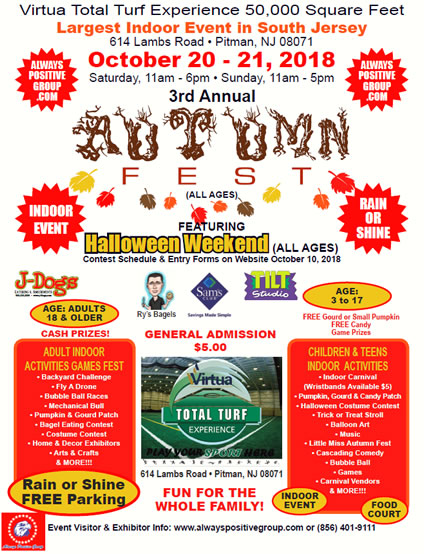 3rd Annual Autumn Fest Pitman, NJ