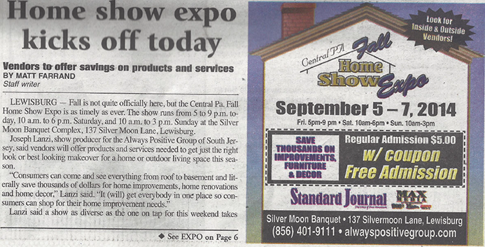 Home show expo kicks off today - vendors to offer savings on products and services